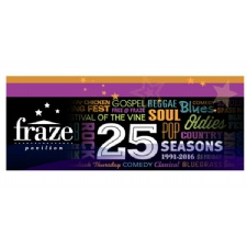 The Fraze Celebrates 25 Seasons with 3 Free Shows