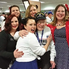 The Patriot Pin-Ups welcome U.S. Veterans