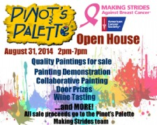 Open House at Pinot's Palette
