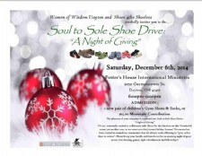 Soul to Sole Shoe Drive
