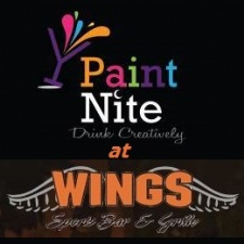Paint Nite at Wings Sports Bar & Grille