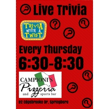 Trivia with A Twist at Campionis