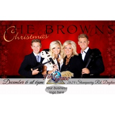 Christmas Party and Concert With The Brown Family