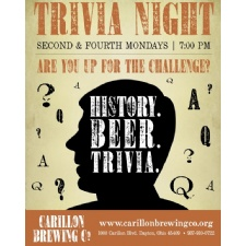 Trivia Night at Carillon Brewing Co.