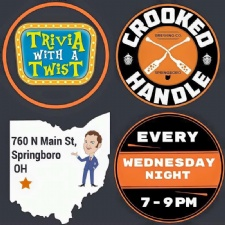 Trivia With a Twist at Crooked Handle Brewing Co.