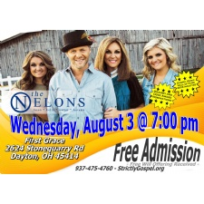 THE NELONS In Concert At First Grace