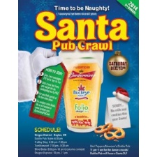 9th Annual Santa Pub Crawl