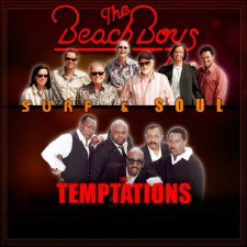 The Beach Boys & The Temptations at The Rose