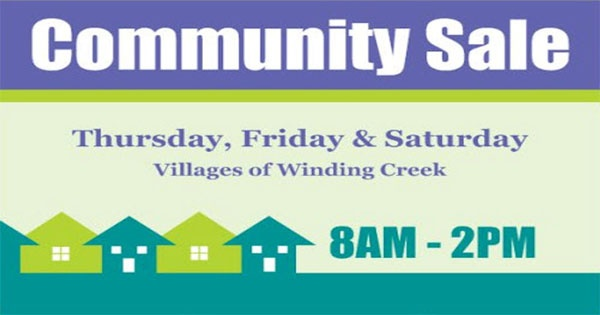 Community-Wide Garage Sale