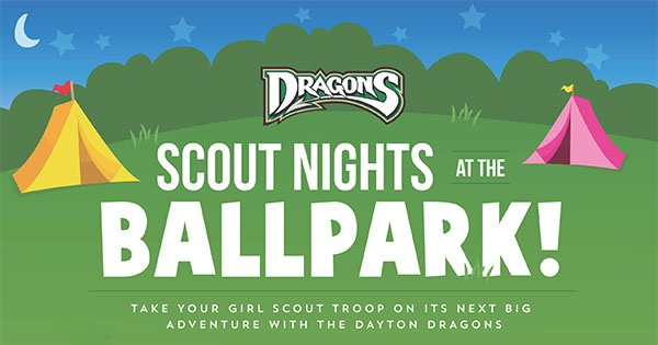 Dayton Dragons Girl Scout Night