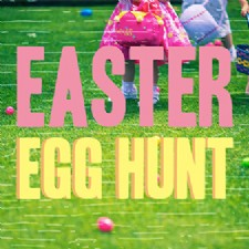 Giant Easter Egg Hunt at Delco Park