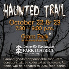 Haunted Trail at Grant Park