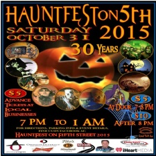 Hauntfest on Fifth 2015