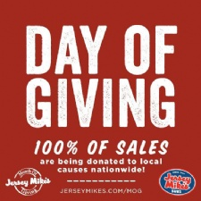 Jersey Mikes Day of Giving