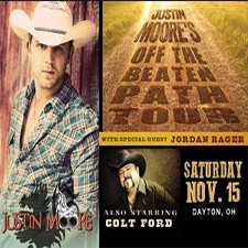 Justin Moore at The Nutter Center