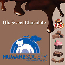 Humane Society Fundraiser: Oh, Sweet Chocolate!