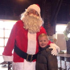 Santa Visits The Market