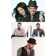 Thompson Square,  Love and Theft  & Kristian Bush