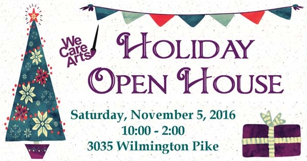 We Care Arts Holiday Open House