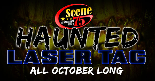 Haunted Laser Tag at Scene75