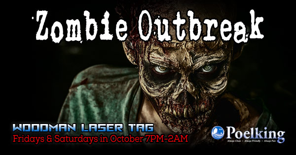Zombie Outbreak at Woodman Laser Tag