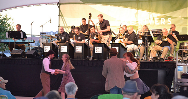 Big Band Nights at Riverscape
