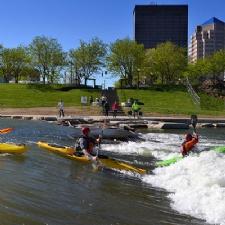 Downtown Dayton River Kayaking