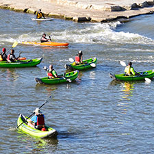Paddlesport Rentals at RiverScape MetroPark