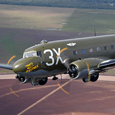 Historic C-47 That's All, Brother at the Air Force museum April 20-22