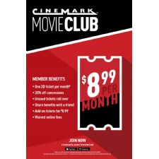 Cinemark Launches Movie Subscription Plan