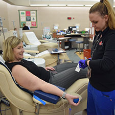 Donating blood exempt from stay-at-home order