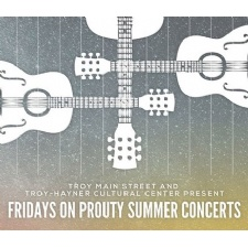 Fridays on Prouty Summer Music Concert Schedule
