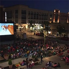 Outdoor Family Movie Nights around Dayton