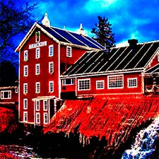 Vote for Clifton Mill in USA Today's Best Holiday Lights