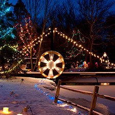 Win Tickets to Woodland Lights!  Contest Closed