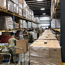 Coronavirus: The National Guard helping Dayton Foodbank