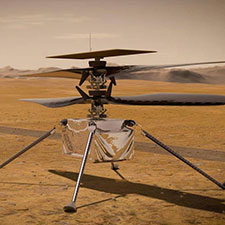 A piece of the Wright brothers' first airplane is set to fly on Mars