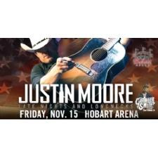 Justin Moore at Hobart Arena