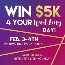 $5K For Your Wedding Day!