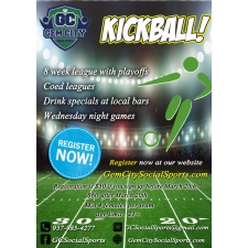 Adult Kickball Early Registration Deadline