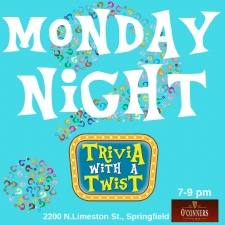 Trivia with a Twist at O'Conners Irish Pub - suspended