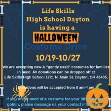 Life Skills Halloween Costume Drive