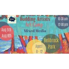 Budding Artists Art Camp - Mixed Media