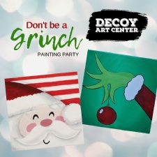 Grinch Painting Party