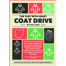 The Tart With Heart Coat Drive