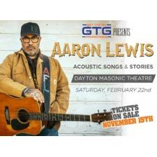 Aaron Lewis - Acoustic Songs & Stories