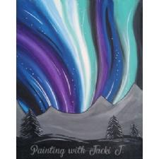 Paint Night - Northern Lights