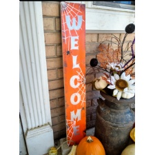 Paint Night - Halloween Welcome Porch Sign