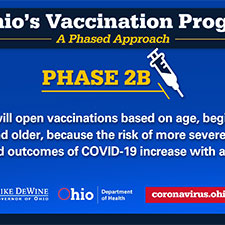 Ohioans over age of 50, others eligible for COVID-19 vaccine from today