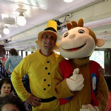 Curious George at LM&M Railroad